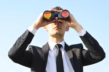 man-searching